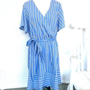 Lane Bryant Striped Dress